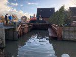 Realisatie haventje te Grootebroek. Opdrachtgever Huisman b.v. Venhuizen.