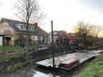 Beschoeiing in Langedijk de aftrap van Denzo in 2020.