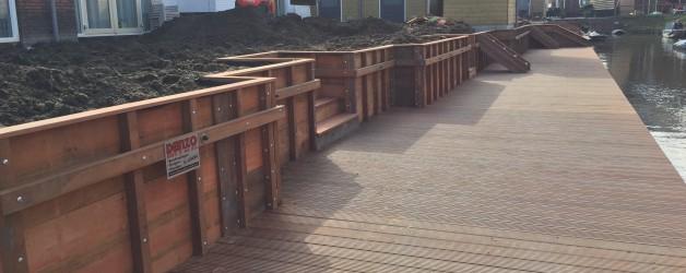 Project Weideheijning te Broek op Langedijk, meer dan geslaagd!!