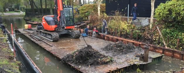 Denzo bouwt 2 botenhuizen te Zuid-Scharwoude!!