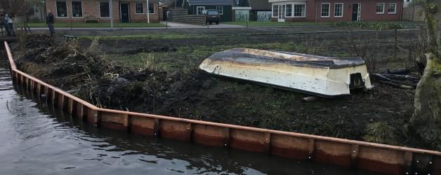Denzo knapt akkers op te Broek op Langedijk.