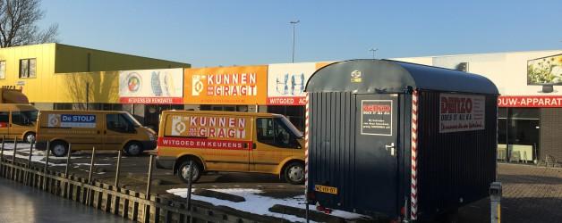 Werkzaamheden te Broek op Langedijk opgestart. Opdrachtgever Huibers Tuinonderhoud.