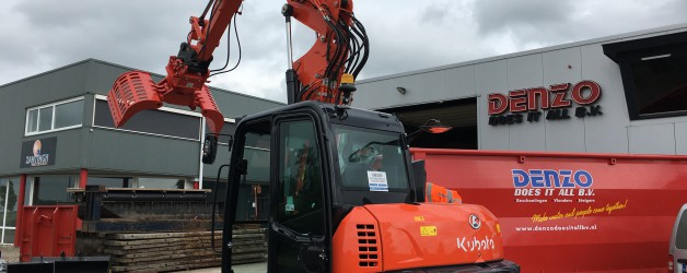 Bomach b.v. levert onze tweede Kubota KX080-4 Alpha!