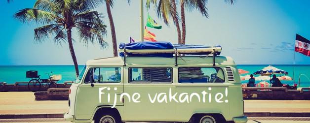 Wij zijn met vakantie, en wensen u ook een heerlijke vakantie toe!!