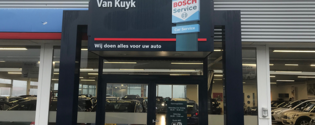 Denzo opgestart te Schagen. Opdrachtgever Bosch Car Service Ton van Kuyk te Schagen.
